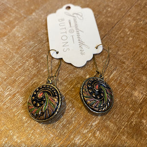 Black Bohemia Hanging Earrings