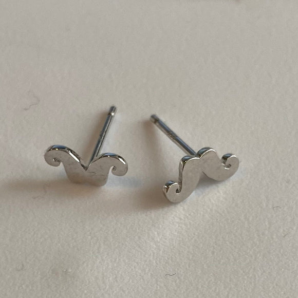 Mustache Earrings