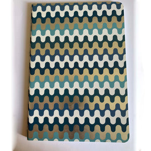 Blue Waves Lightweight Notebook