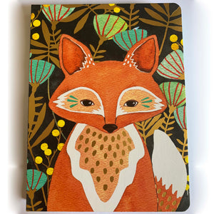 Woodland Fox Notebook