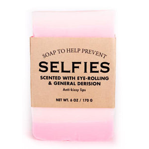Soap to Help Prevent Selfies