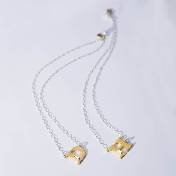 Celebrating Women Initial Necklace