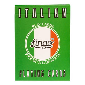 Italian Lingo Card Game