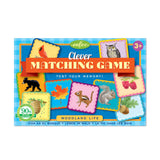 Woodland Life Clever Matching Game