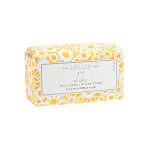 At Last Perfumed Shea Butter Soap