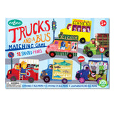 Trucks and a Bus Matching Game