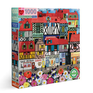 Whimsical Village 1000 Piece Puzzle