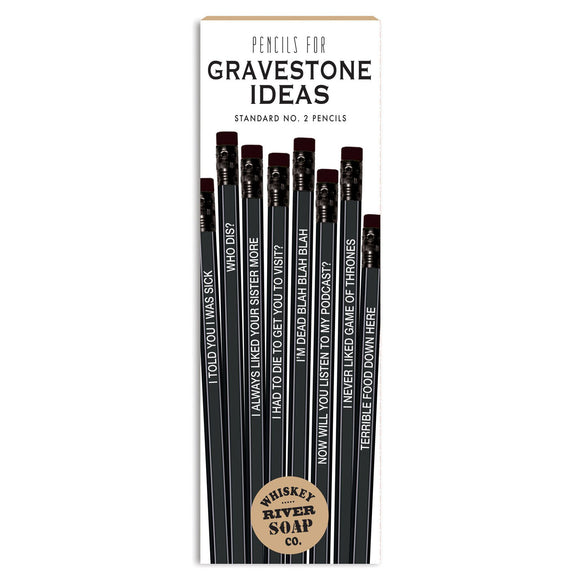 Pencils for Gravestone Ideas