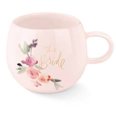 The Bride Round Organic Shaped Mug