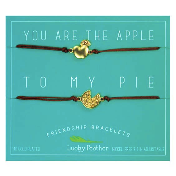 Friendship Bracelet - Gold - APPLE/PIE