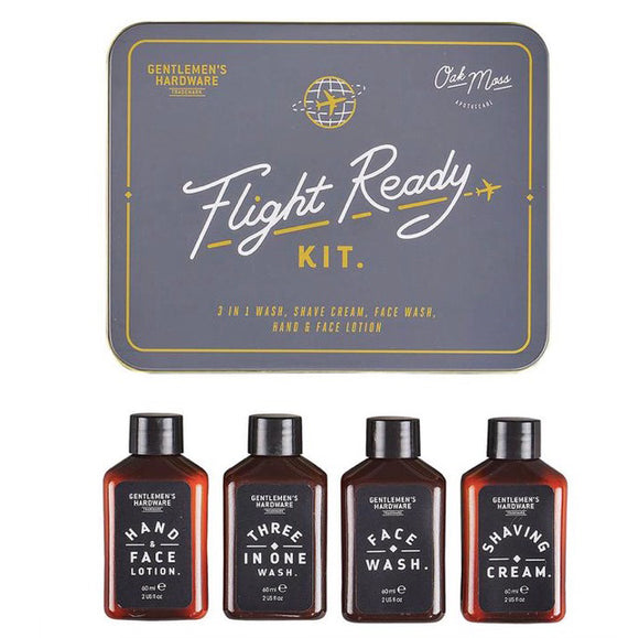 Flight Ready Travel Kit/ Men's Grooming