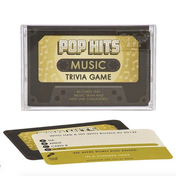 Pop Hits Trivia Tape