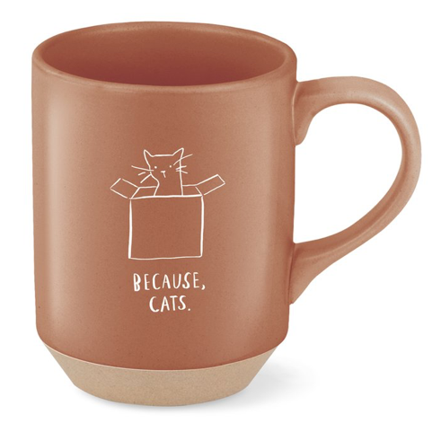 Because Cats Mug