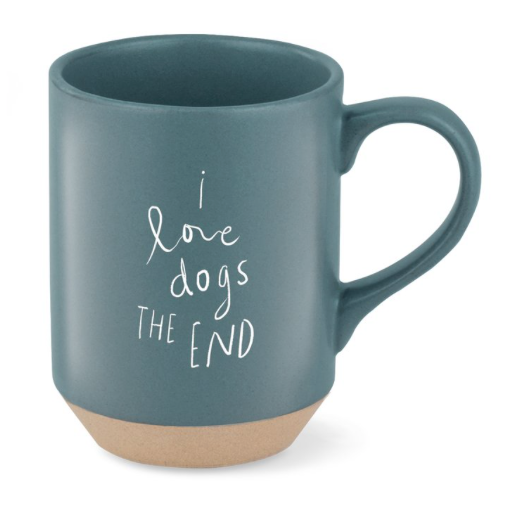 I Love Dogs the End Mug