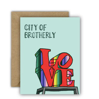 Card: City of Brotherly Love