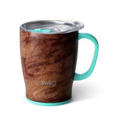 Black Walnut 18oz Insulated Mug