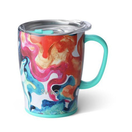 Color Swirl 18oz Insulated Mug