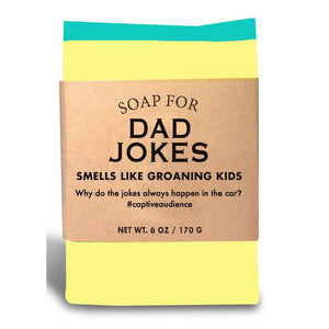 Soap for Dad Jokes