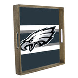 Philadelphia Eagles Team Stripes Tray