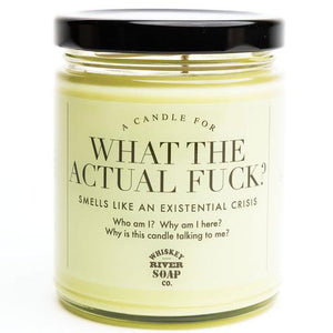 What The Actual Fuck? Candle