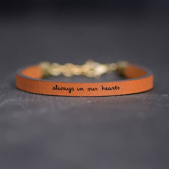 Always in our hearts Bracelet