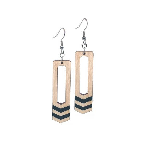 Dangle Two Bar Earrings
