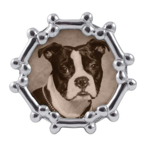 Dog Bone Round Frame