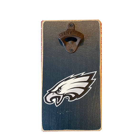 Rustic Eagles Themed Bottle Opener
