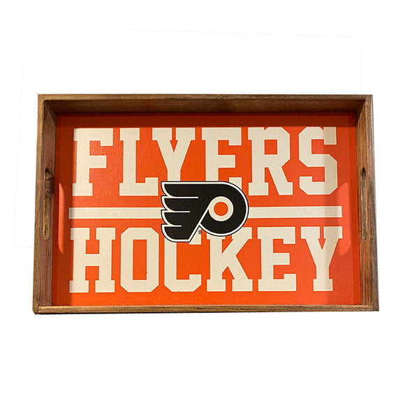 Philadelphia Flyers Team Stripes Tray