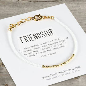 Minimalist Bracelets - Gold - Friendship
