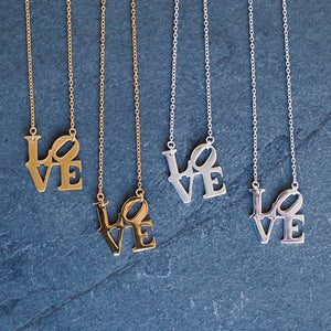 Philly Love Necklace