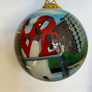 City of Brotherly Love Ornament