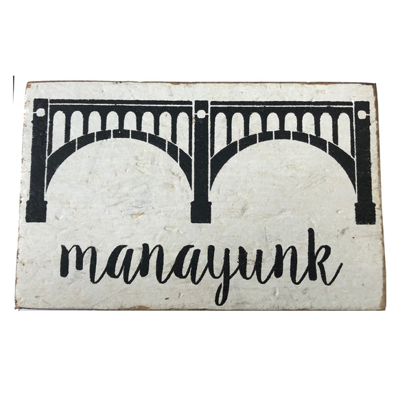 Manayunk Bridge Block