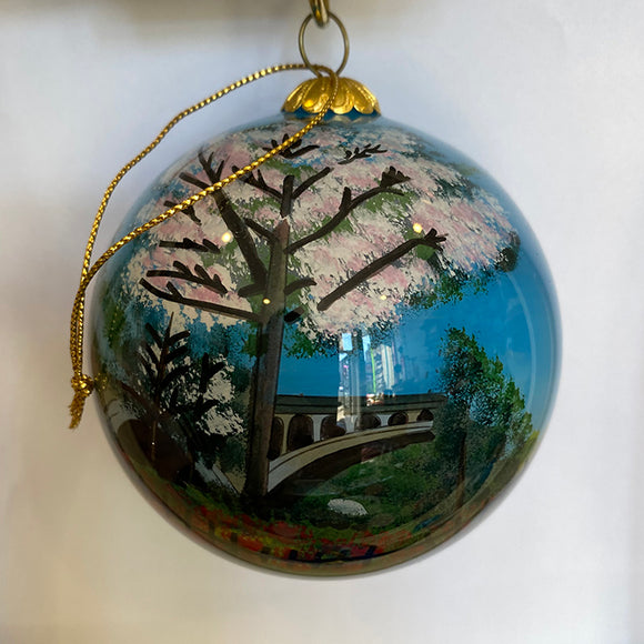 Manayunk in the Spring Ornament