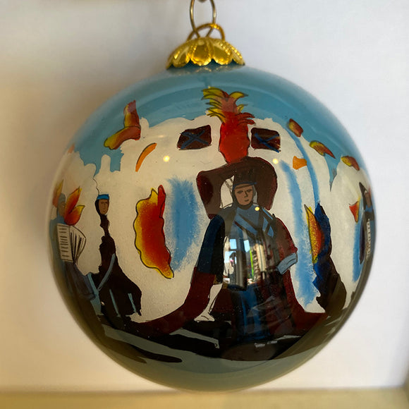 The Mummers Ornament