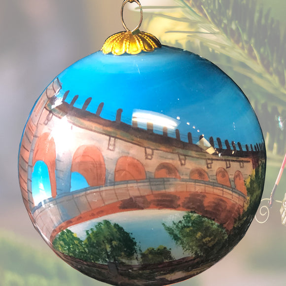 Ornament: Along the Manayunk Canal by GB