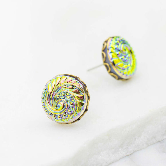 Petite Bohemia in Vitrail Light Earrings