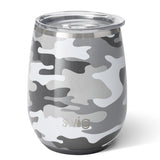 Incognito Camo Stemless Wine Cup (14oz)