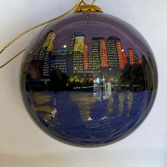 Twilight In Philadelphia Ornament