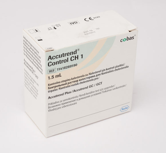 AccuTrend Cholesterol Control Solution