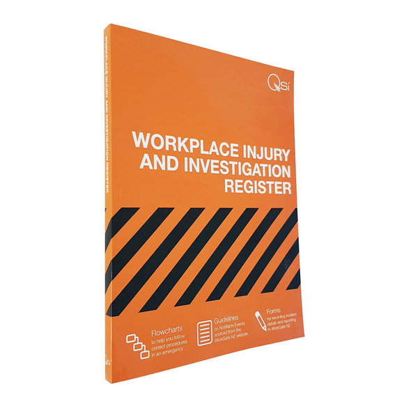 Accident Register A4 Booklet