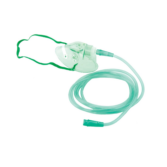 Oxygen Mask Adult with 2.1m tubing