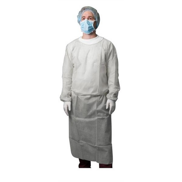 Clinical Isolation Gown Non Sterile Pack 100