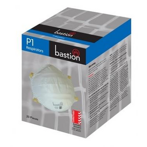 Bastion P1 Respirator mask with Valve Box 12 - Expired
