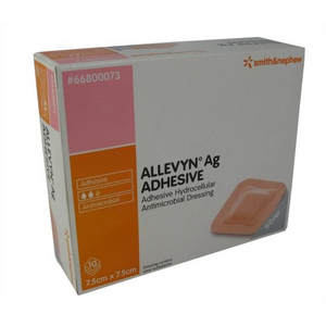 Smith and Nephew Allevyn Ag Adhesive Single Wound Dressing