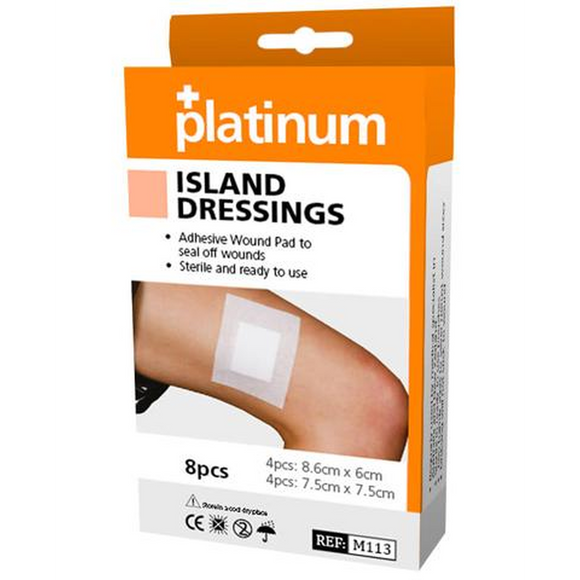 Platinum Island Dressings (8 Pack)