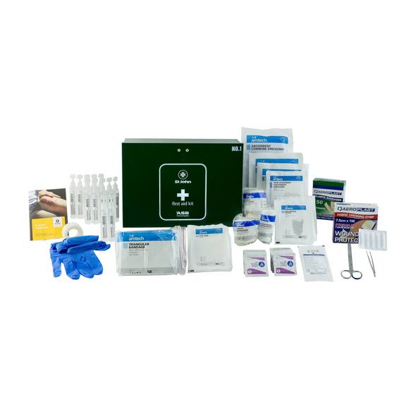 St John No.1 Metal Workplace First Aid Kit