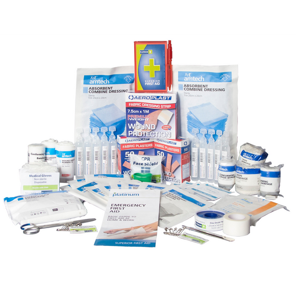 Platinum First Aid Kit 172 Piece Large - Refill Pack