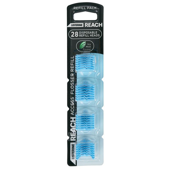 Listerine Reach Flosser Clean Paste Refill Pack 28
