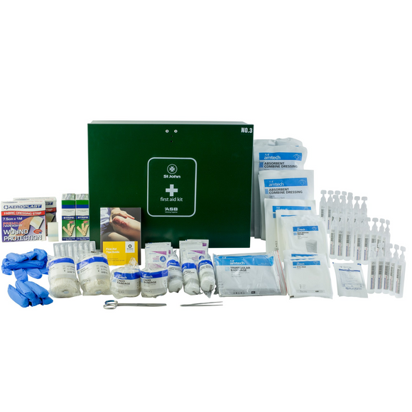 St John No.3 Metal Workplace First Aid Kit